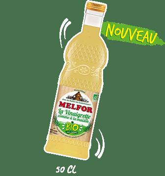 Melfor La Vinaigrette Bio Comme à la Maison