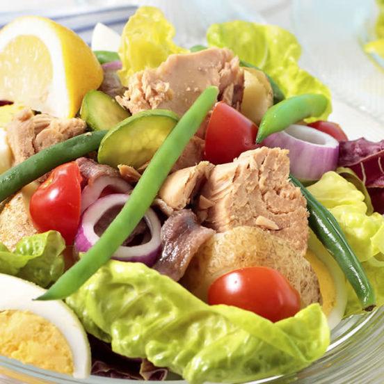 Salade niçoise au Melfor Côté Sud